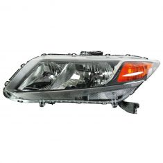 12 Honda Civic (exc Hybrid) Headlight LH