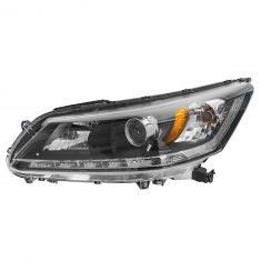 13-14 Honda Accord EX-L Sedan w/3.5L Halogen Headlight LH