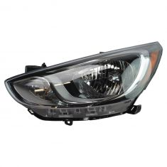 12-13 Hyundai Accent; 14 Accent Halogen Headlight LH