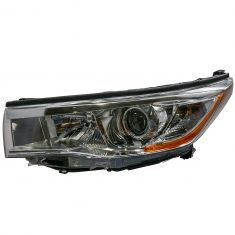 14-16 Toyota Highlander (w/Bright Chromed Housing) Headlight LH