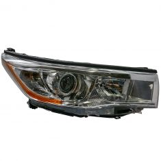 14-16 Toyota Highlander (w/Bright Chromed Housing) Headlight RH