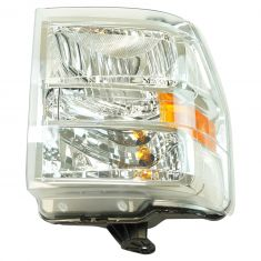 08-14 Ford E150, E250; 08-16 E350, E450, E550; 16-17 F650, F750 Composite Headlight RH