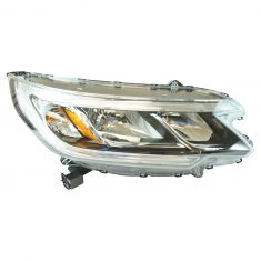 15-16 Honda CR-V (w/o LED Daytime Running Light & w/o Projector Beam) Halogen Headlight RH
