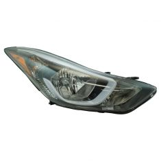 14-15 Hyundai Elantra Coupe; 14-16 Elantra Sedan Korean Built (Non Projection Type) Headlight RH