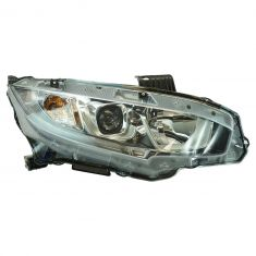16-17 Honda Civic Halogen Headlight RH