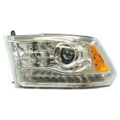 13-15 Ram 1500; 13-16 2500, 3500 (Chrome Bi-Functional Halogen Projector Design) Headlight LH