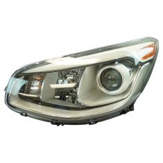 14-16 Kia Soul (Projection Style w/LED Accent) Halogen Headlight LH