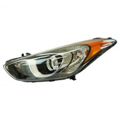 13-16 Hyundai Elantra GT Hatchback Projection Style Halogen Headlight LH