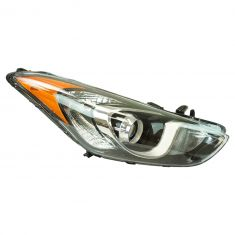 13-16 Hyundai Elantra GT Hatchback Projection Style Halogen Headlight RH