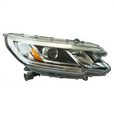 15-16 Honda CR-V (w/LED Daytime Running Light) Projector Beam Style Halogen Headlight RH