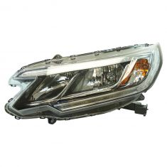 15-16 Honda CR-V EX, EX-L (w/LED Daytime Running Light & w/o Projector Beam) Halogen Headlight LH