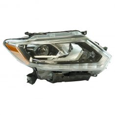 14-15 Nissan Rogue (US Built - 1st Vin Digit 5); 16 Rogue L.E.D. Headlight RH