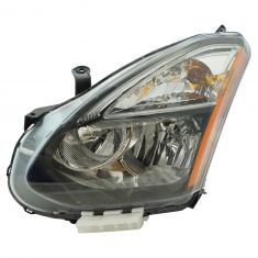 13 Nissan Rogue; 14-15 Rogue (Japan Built - 1st Vin Digit J) Halogen Headlight LH