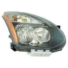 13 Nissan Rogue; 14-15 Rogue (Japan Built - 1st Vin Digit J) Halogen Headlight RH