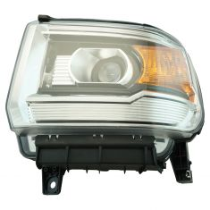 14-15 GMC Sierra Headlight (w/o LED) LH