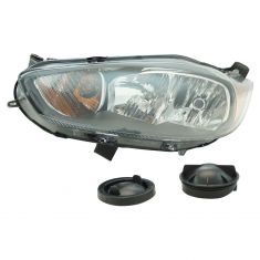 14-17 Ford Fiesta Headlight (w/ Black Trim) LH