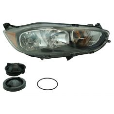 14-17 Ford Fiesta Headlight (w/ Black Trim) RH