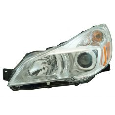 13-14 Subaru Legacy Outback Halogen Headlight (w/Chrome Bezel) LH