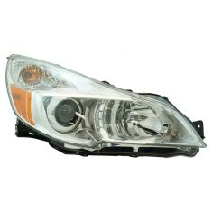 13-14 Subaru Legacy Outback Halogen Headlight (w/Chrome Bezel) RH