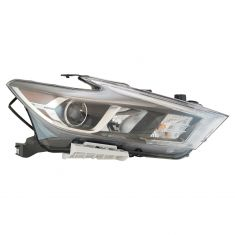 16-17 Nissan Maxima Halogen Headlight Assembly RH