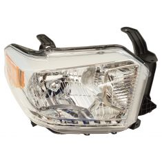 14-17 Toyota Tundra (w/Leveling Option) (w/o Daytime Running Light & w/o Black Trim) Headlight RH
