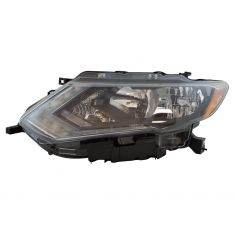 17-18 Nissan Rogue Halogen Headlight LH