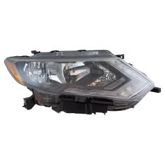 17-18 Nissan Rogue Halogen Headlight RH