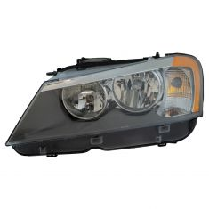 11-14 BMW X3 Halogen Headlight LH