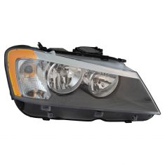 11-14 BMW X3 Halogen Headlight RH