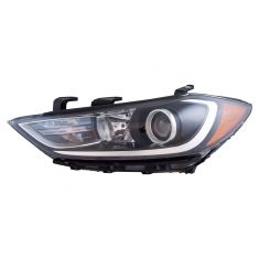 17-18 Hyundai Elantra Halogen Headlight (w/ LED Accent) LH