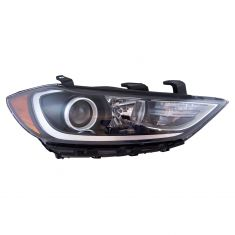 17-18 Hyundai Elantra Halogen Headlight (w/ LED Accent) RH