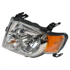 08-12 Ford Escape Headlight Assy (w/Clear Background) LH (Ford)
