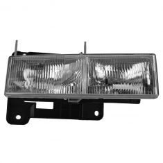 90-02 Chevy, GMC C/K PU; 92-99 Suburban, Yukon; 92-94 Jimmy; 95-00 Tahoe Composite Headlight RH (GM)
