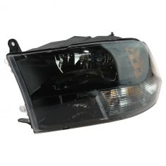 13-16 Ram 1500; 12 (fr 7/23/12)-13 2500; 12 (fr 7/23/12)-14 3500 Quad Halogen Blk Headlight LH (MP)