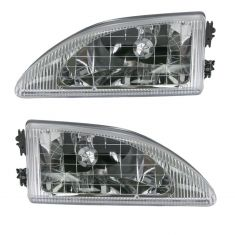 1994-98 Mustang Cobra Headlights Pair