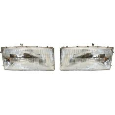 1989-95 Spirit Acclaim Lebaron Composite Headlight Pair