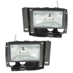 1991-94 Explorer Headlight Pair