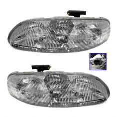 1995-01 Lumina Car Composite Headlight Pair