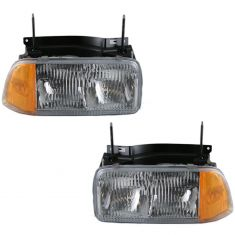 1994-97 GMC S15 Pickup Headlight Combo Pair