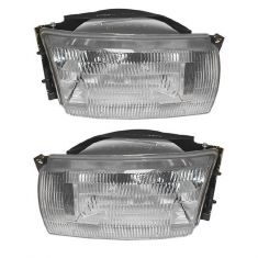 1993-95 Nissan Quest Headlight Pair