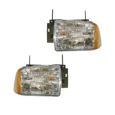 1995-97 S10 Blazer Composite Headlight Pair