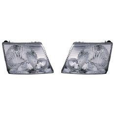2002-05 Ford Explorer 4 door Headlight Pair