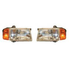1989-98 Suzuki Sidekick Headlight Pair