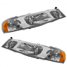 1998-02 Lincoln Towncar Combination Headlight Pair