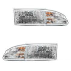 1994-95 Ford Thunderbird Headlight Pair