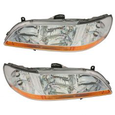 1998-00 Honda Accord Headlight Pair