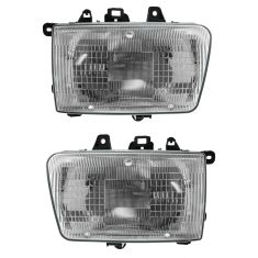 1990-95 Toyota 4 Runner Composite Headlight Pair