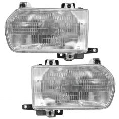 1996-99 Nissan Pathfinder Headlight Pair