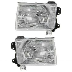1998-00 Nissan Frontier Headlight Pair