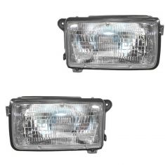 1991-97 Isuzu Rodeo Passport Headlight Pair